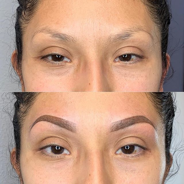 High arches 💁🏼‍♀️ . . . . . . . . #permanentmakeup #microblading #ombrebrows #combobrows #microshading #makeup #permablend #bayarea #fremont #sanjose #browsworldwide #archaddicts #brows #xions