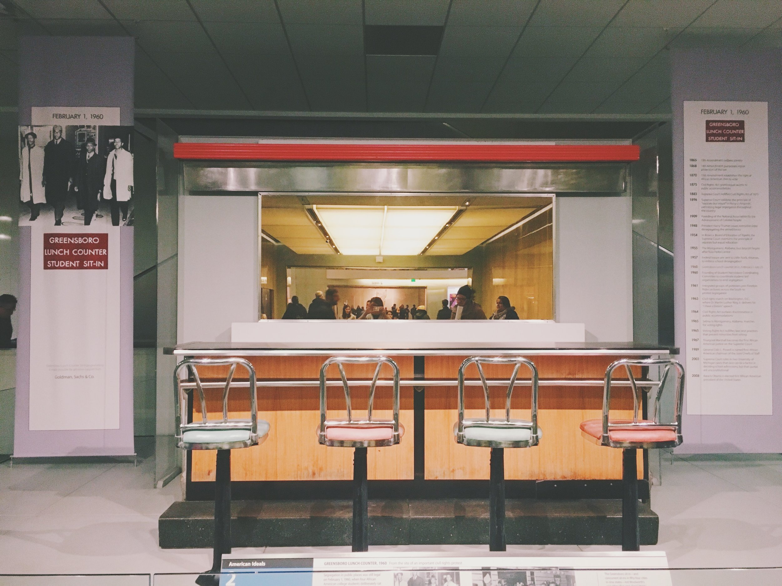 smithsonian-greensboro lunch counter