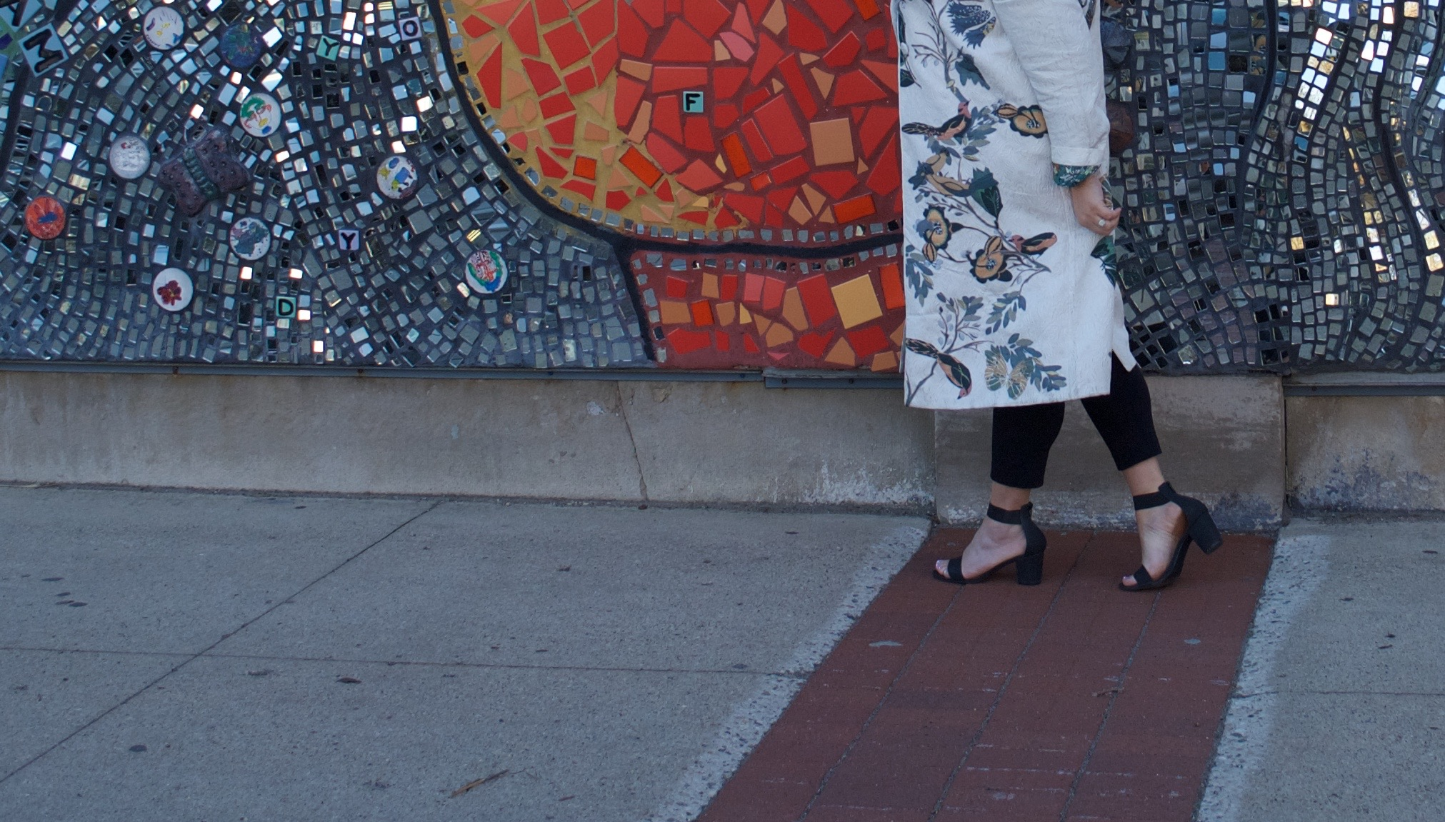 sincerely ashley outfit | anthropologie overcoat
