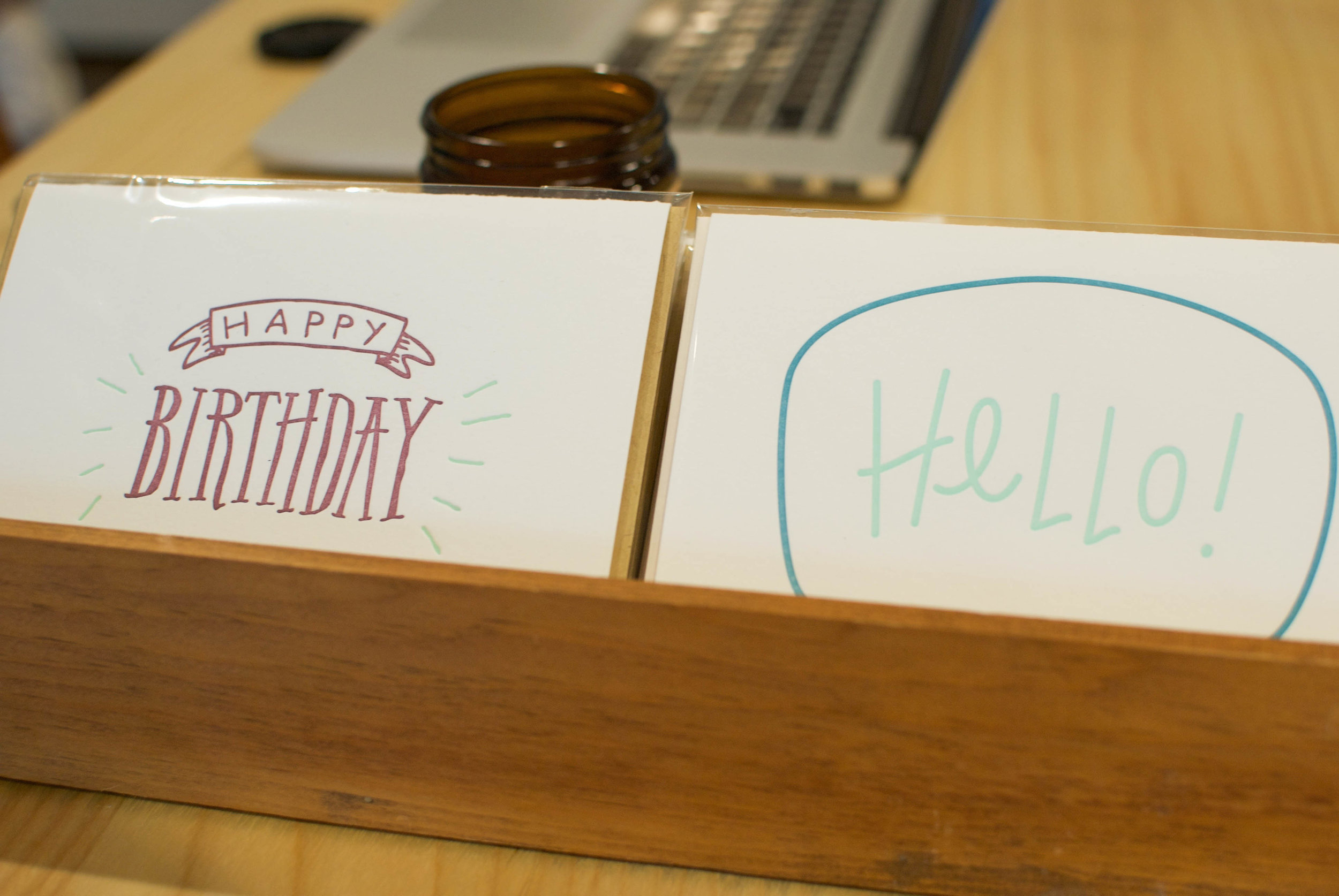 sincerely ashley profile | freshly squeezed letterpress cards