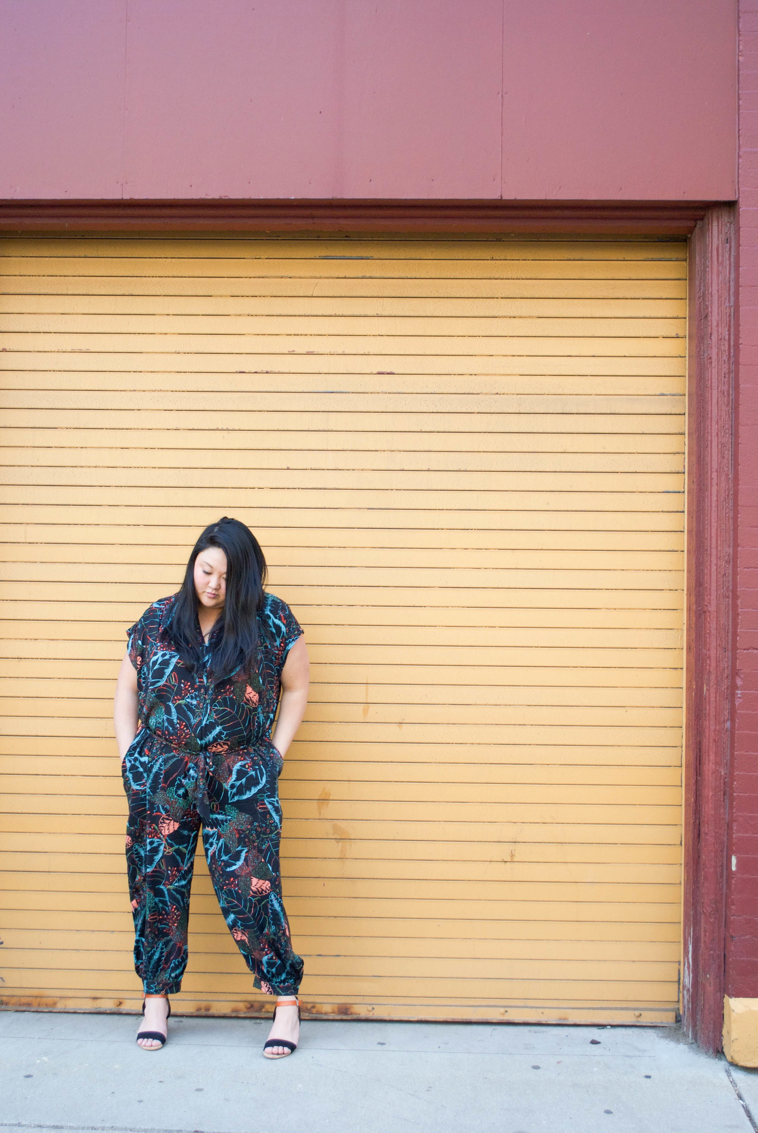 sincerely ashley | anthropologie jumpsuit