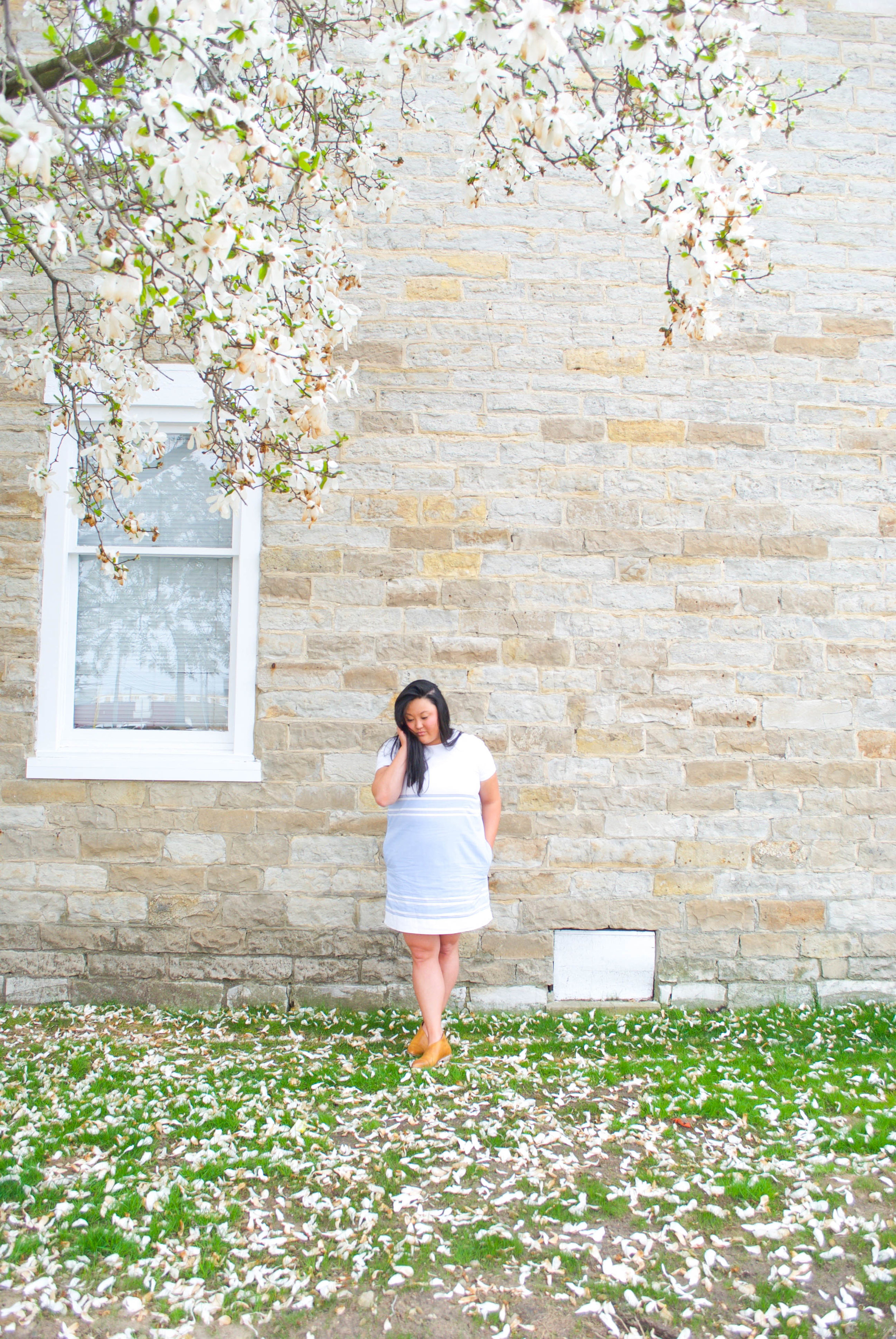 sincerely ashley | white-dress-gap