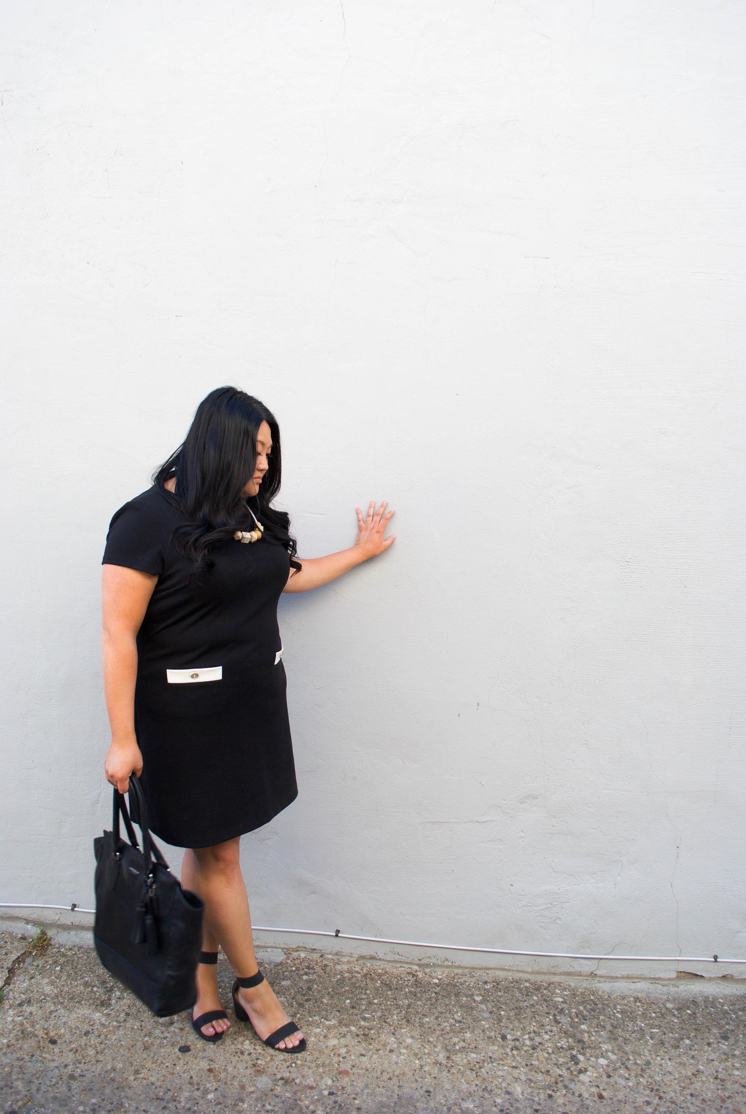 sincerely ashley | tommy-hilfiger-shift-dress