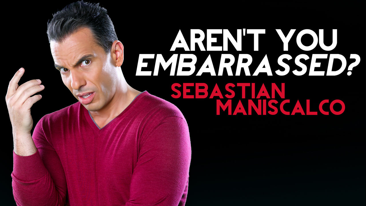 Sebastian Maniscalco: Aren't You Embarrassed?   Comedy Special - We cried...actually cried because this guy is so funny. He uses facial expressions, body language, and pronunciation in ways I haven't seen in any other comics. His bit about what it's like to be in an airport was a highlight FORSURE. It's all solid...felt like a ongoing anecdote of contrast between his traditional Italian upbringing and today's culture.