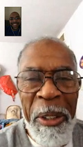 Me and Dad on FaceTime