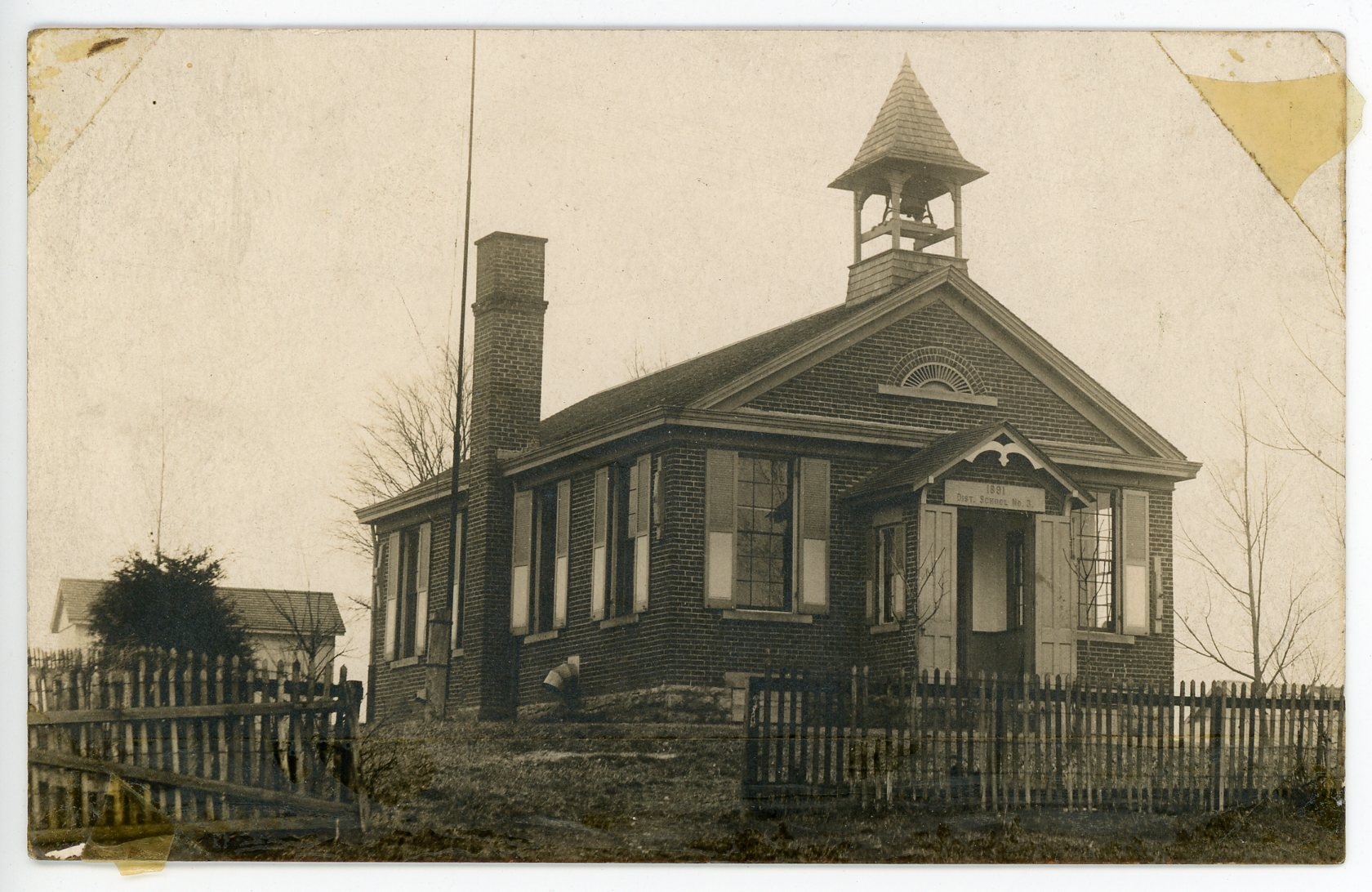 Myers Schoolhouse, constructed in 1891.All rights reserved: Delhi Historical Society
