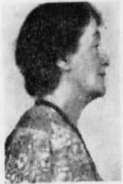 """Mrs. Emma Backus, a Cincinnati author, and civic leader was very involved in the Delhi community. She wrote a historical play called """"The Trail"""" as well as the """"Centennial Pageant of Cincinnati"""" (1919) which celebrated the 100th anniversary of the incorporation of Cincinnati as a city. Emma Backus ended up in Delhi after purchasing the Myers Schoolhouse at auction in 1926 and soon after decided that Dehli Hills was a more peaceful place to move to concentrate on her research and writing. She also founded the original Delhi History Club (c. 1930) and the Delhi Arts Guild (c. 1928-1929). Photo via Cincinnati Enquirer."""