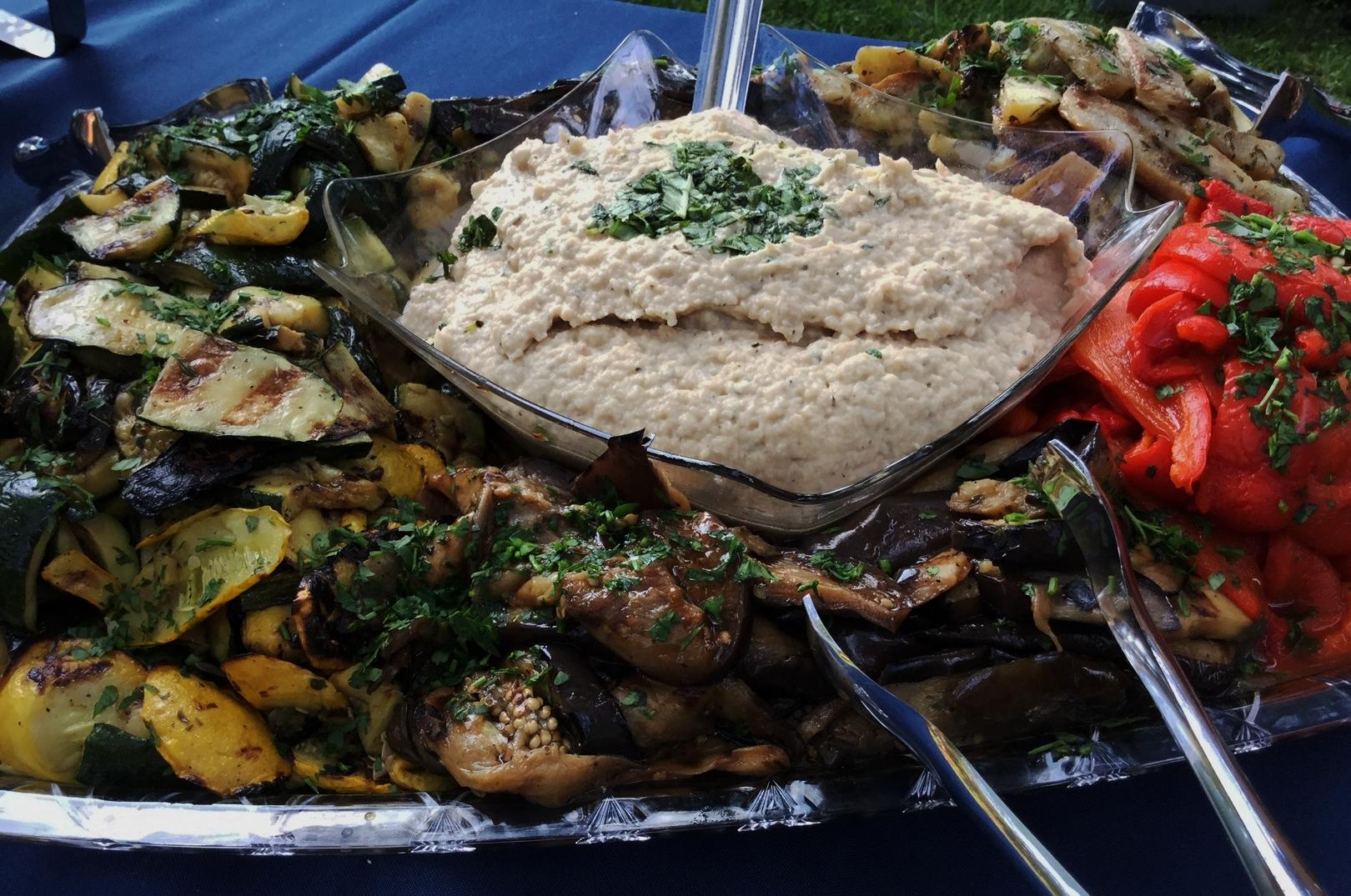Tuscan Dip & Roasted Vegetables