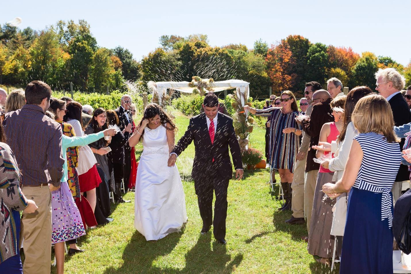 Hawk Ridge WInery - Weddings