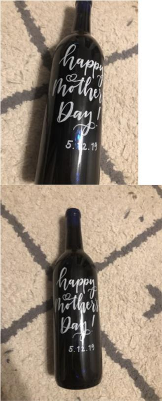 Wine Bottle Decor ($5)   ** NO  pre-order necessary**