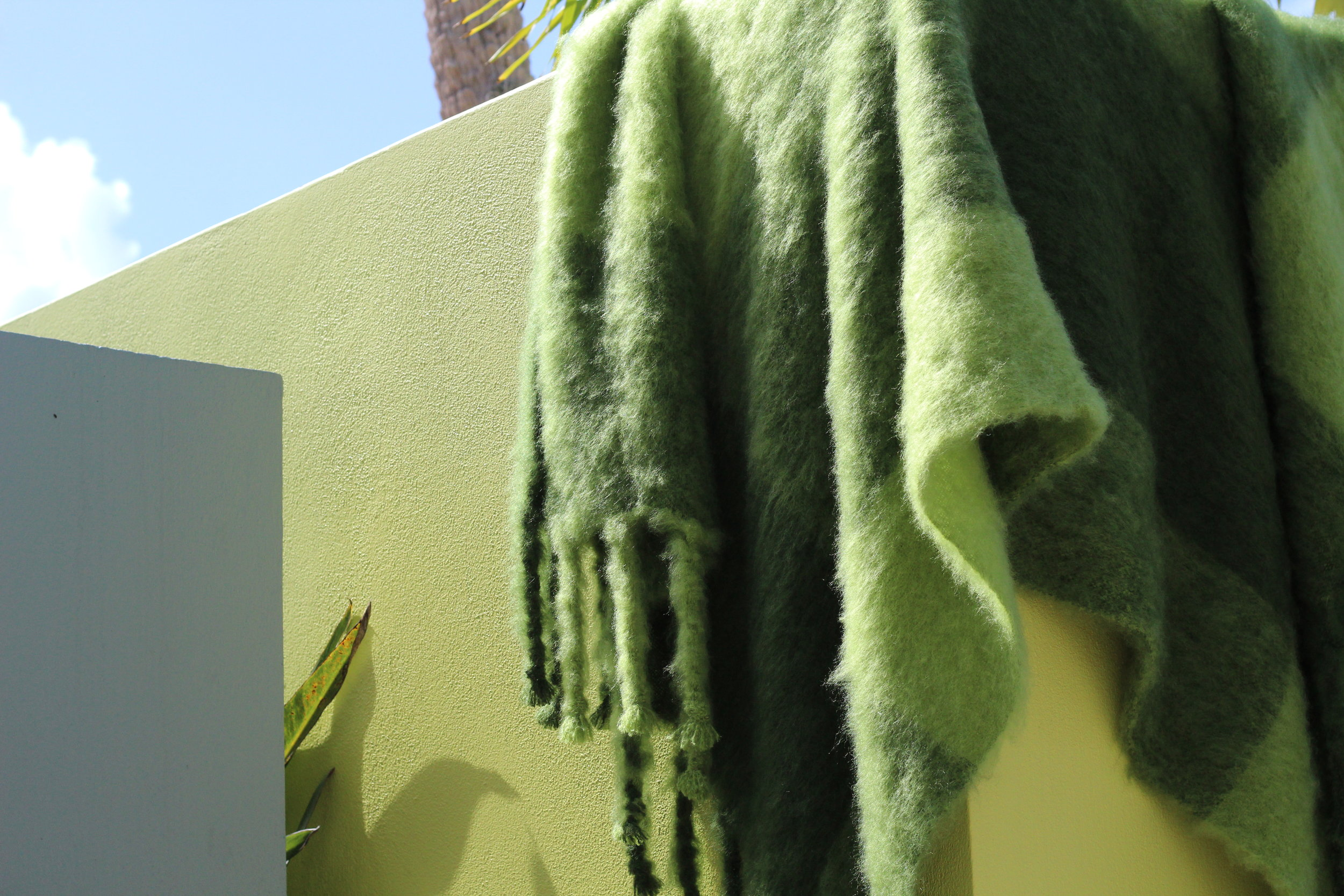 PB Private Label Mohair Blankets   All mohair blankets are handmade in Finland and brushed with natural thistles. Both durable and resilient, mohair is notable for its high luster and ability to take dyes exceptionally well. Pansy Bayou is proud to present luxurious and colorful handmade mohair blankets designed by a family of artisans with decades of experience in the textile industry.