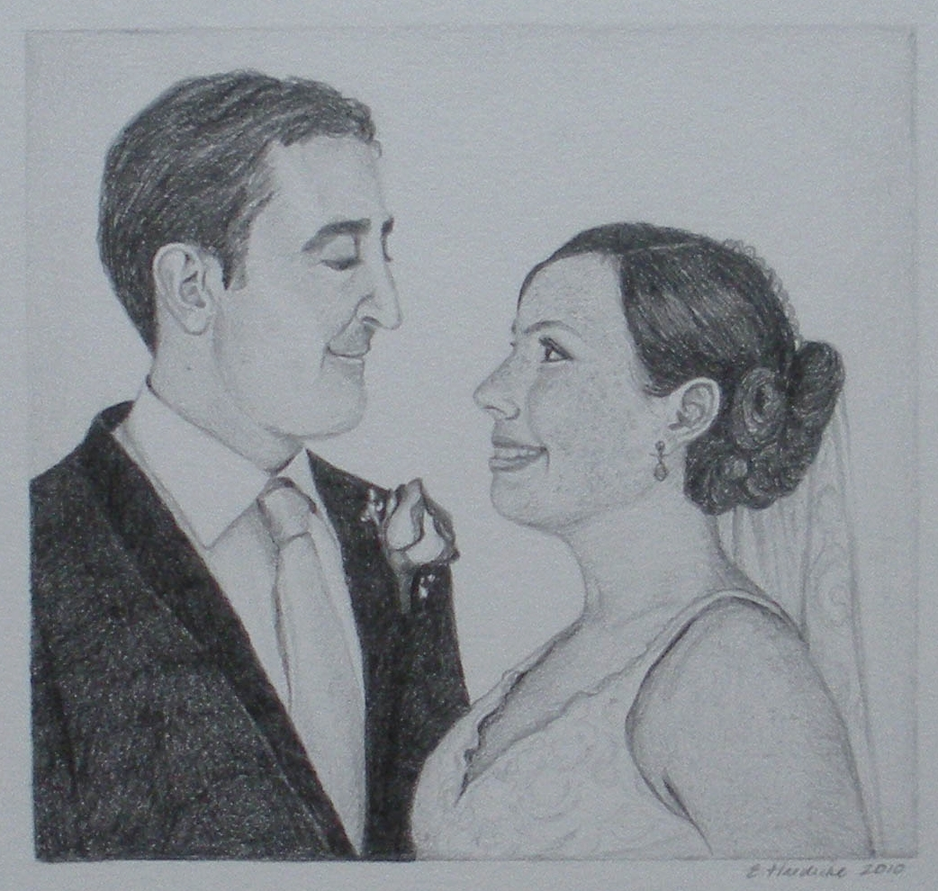 All subjects available in a pencil sketch. Up to 3 faces for these prices.