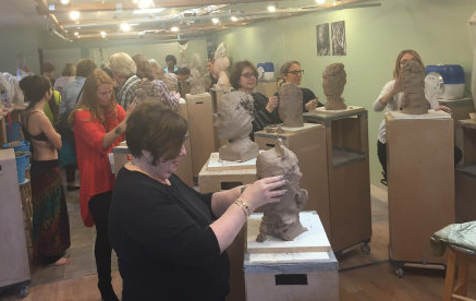 sculpting & art therapy - Affinity Treatment Centers