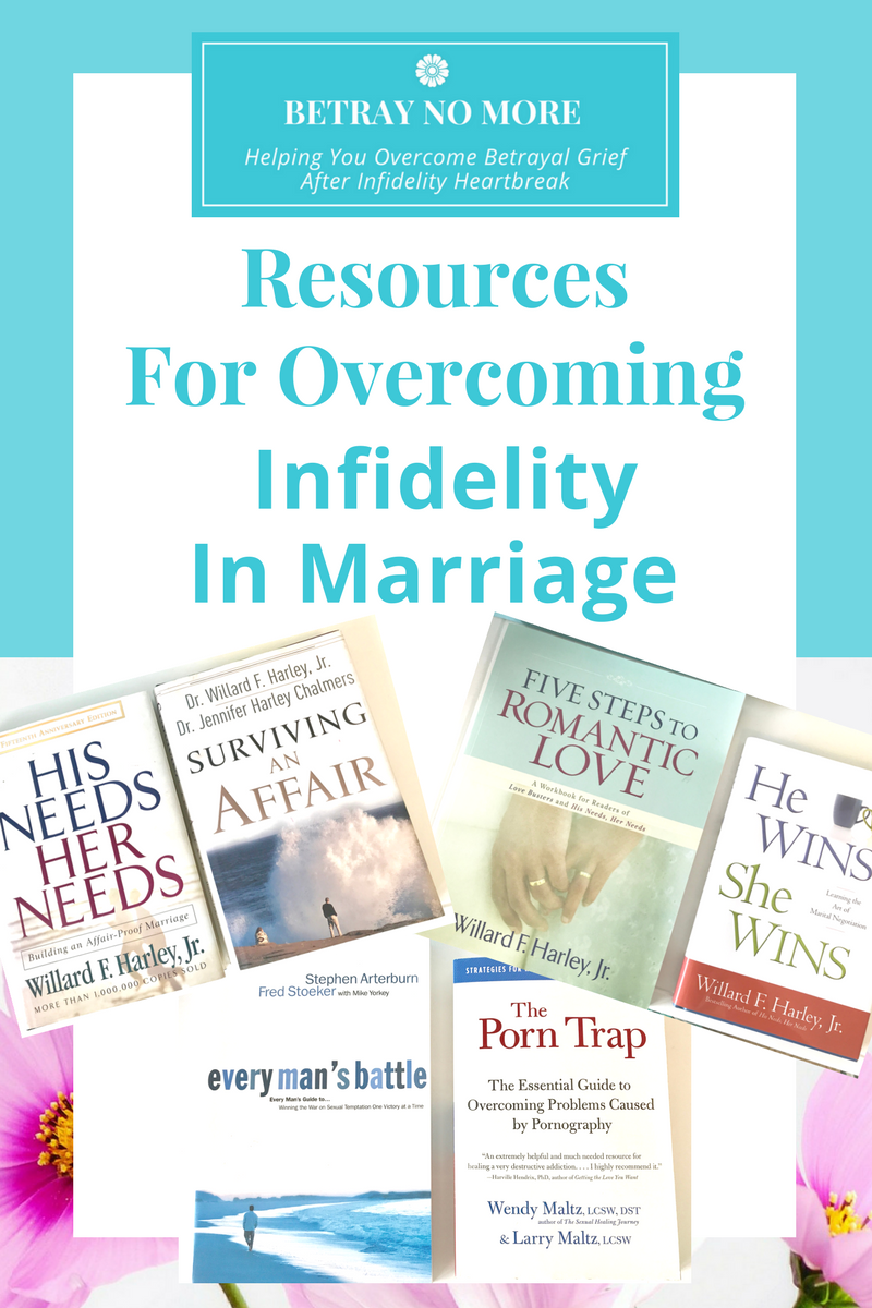 Resources For Overcoming Infidelity In Marriage.