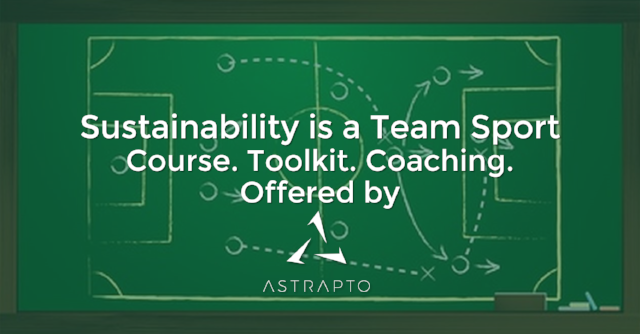 Sustainability is a Team Sport Promo