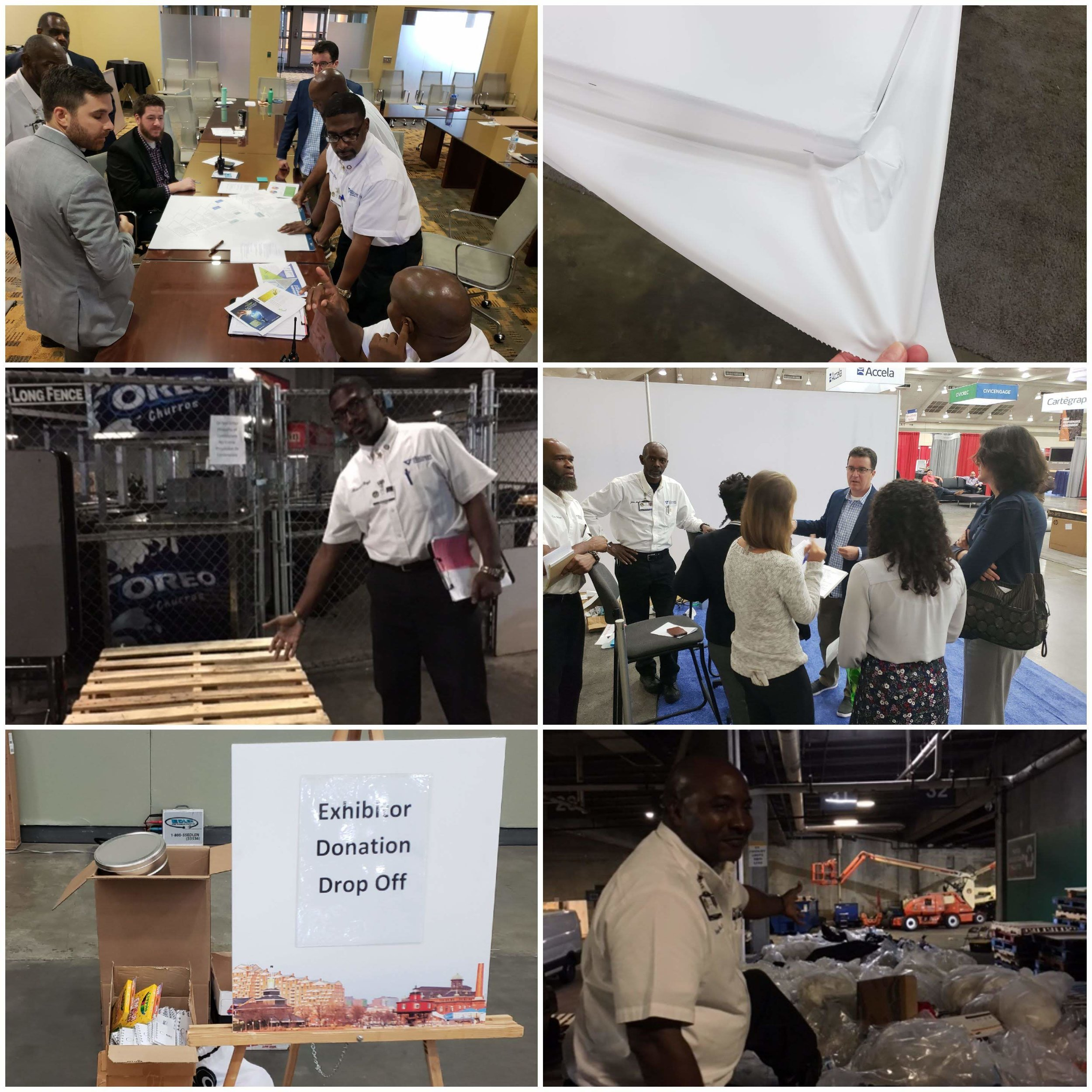 Hands-on interactive workshop for materials waste reduction