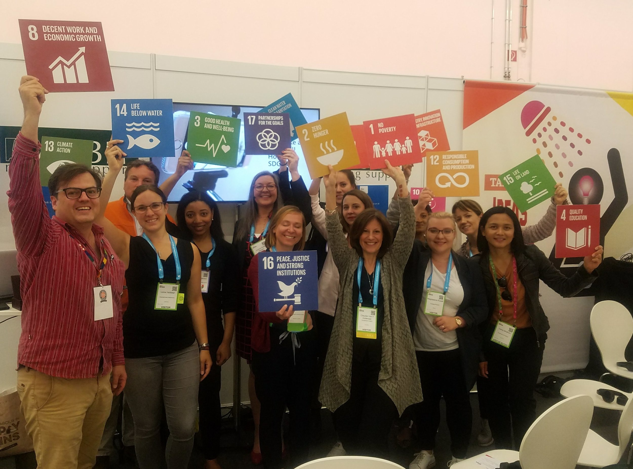 A design oriented workshop to integrate SDGs into event design and supplier services