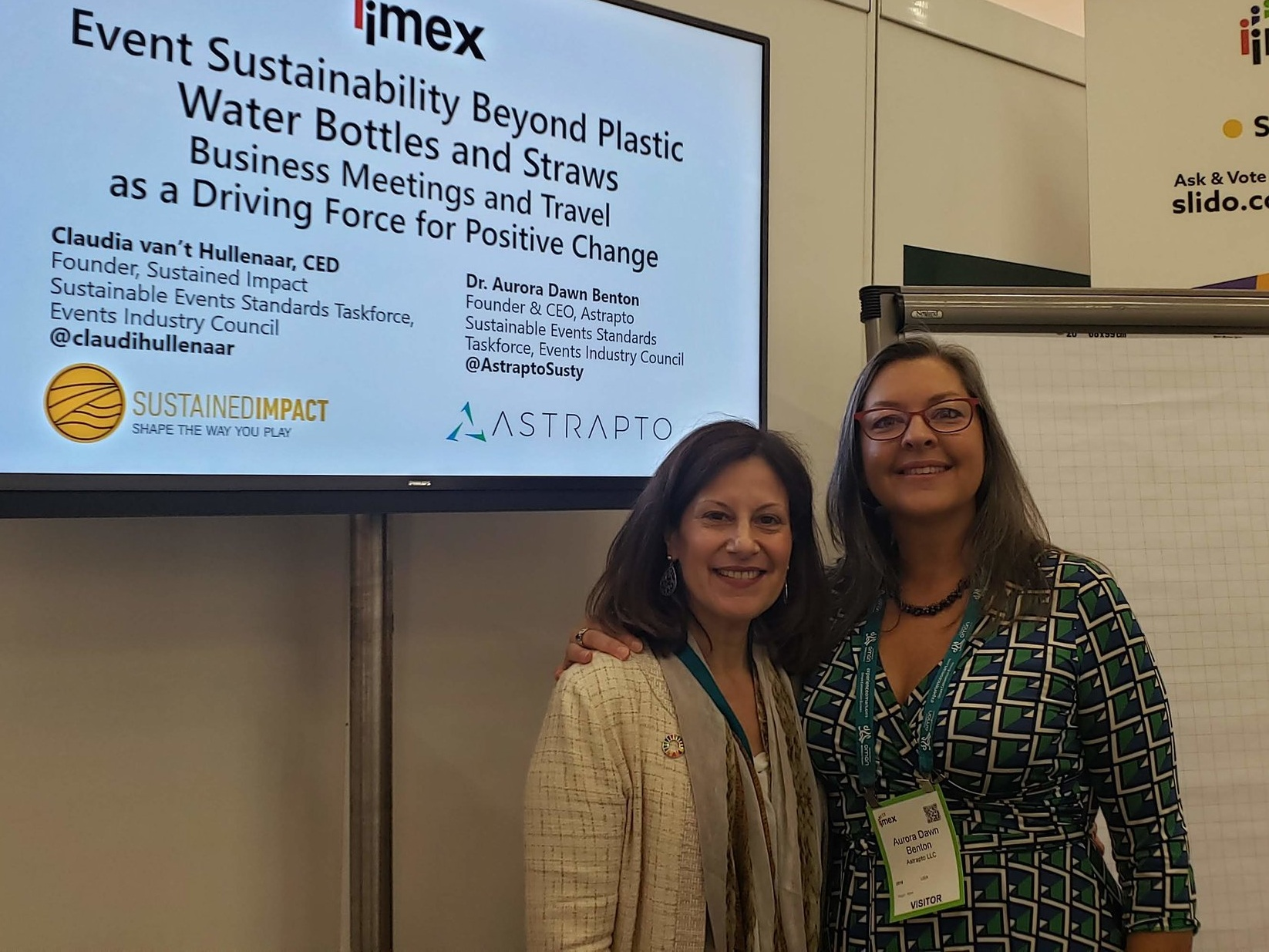 Claudia and Aurora frequently present a version of our workshop at IMEX in Frankfurt and Las Vegas.
