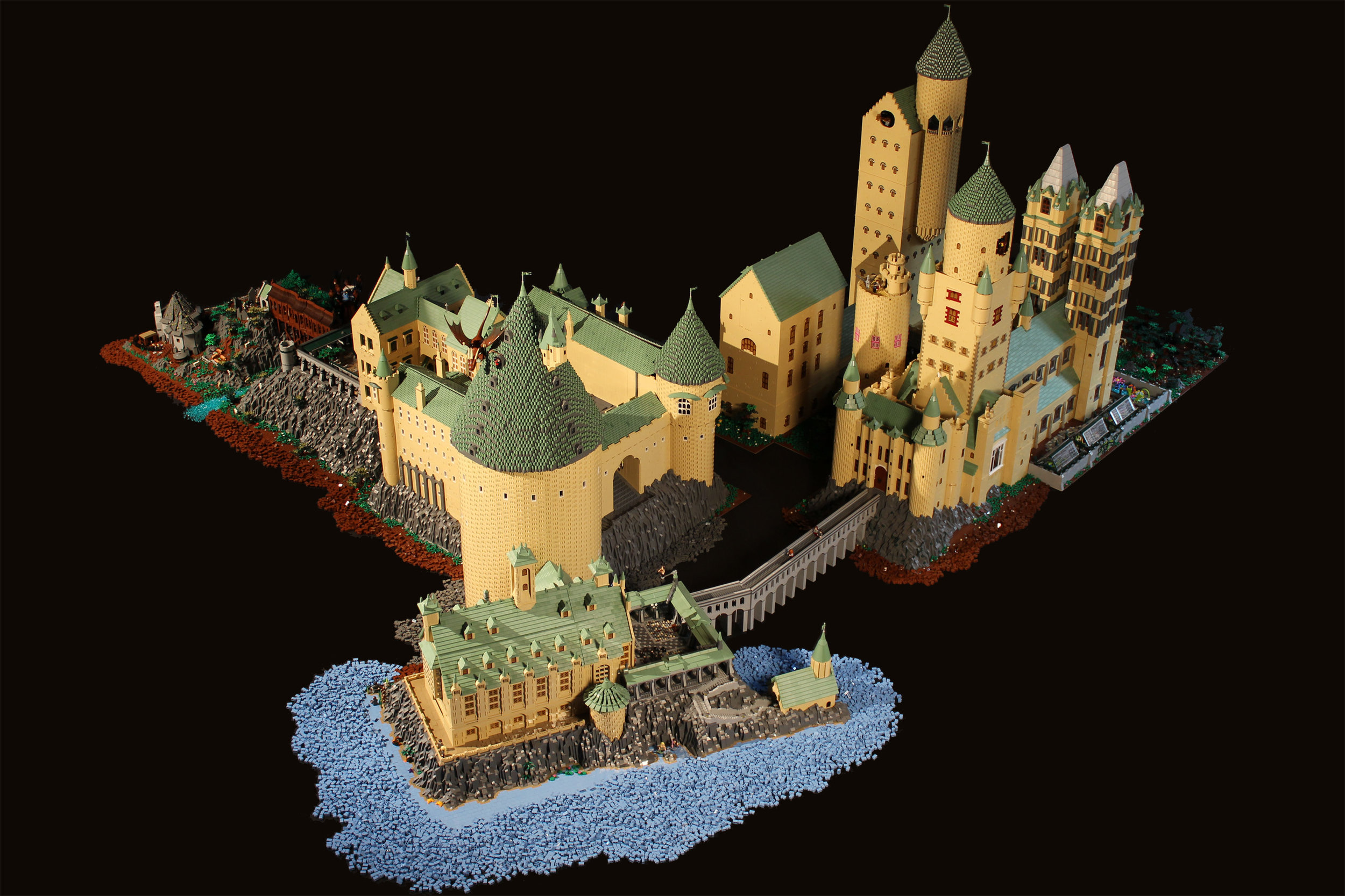 Hogwarts Castle Bippity Bricks Brick Art And Architecture Travelers can only get inside neuschwanstein castle on a guided tour, which is included in the price of admission. hogwarts castle bippity bricks