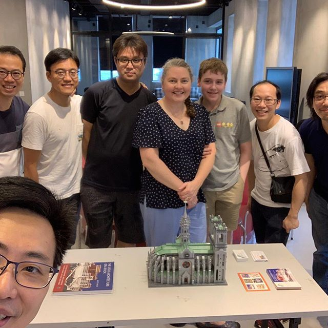 What a fabulous time building with AFOLS in Hong Kong! #legoarchitectureideabook #hkbr