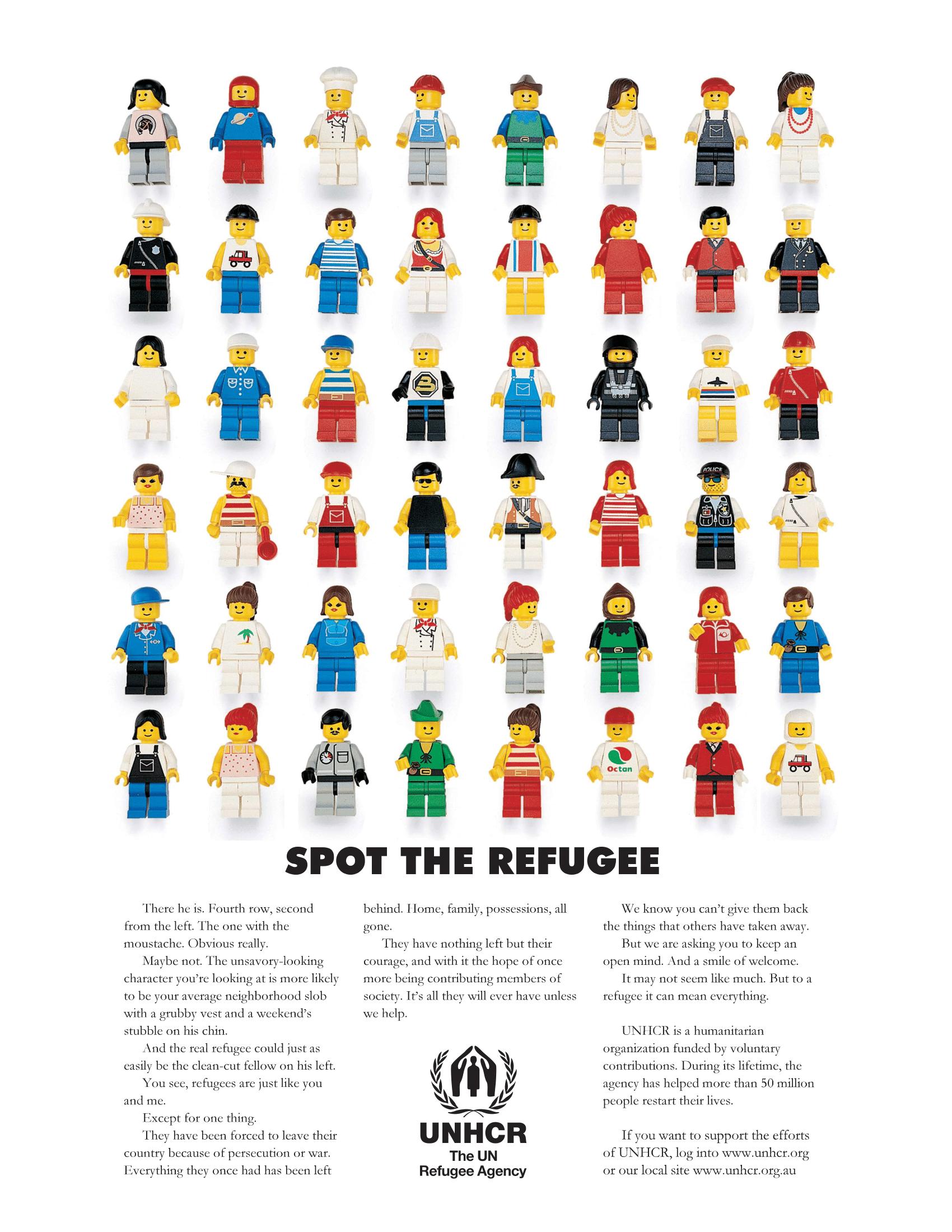 UNHCR Spot the Refugee