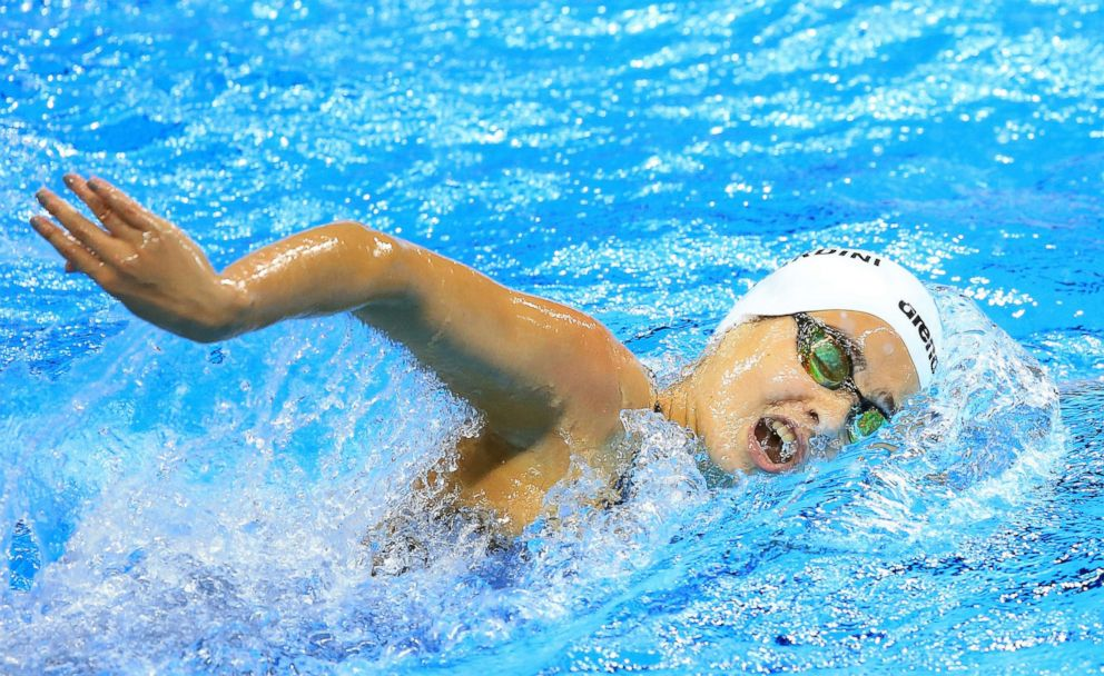 Mardini competing in the 2016 Rio Olympics (Vaughn Ridley/Getty Images)
