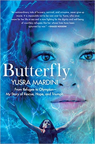 Butterfly (2018) is Mardini's autobiography, recounting her journey from a devastated Syria to competing in the Olympic Games.