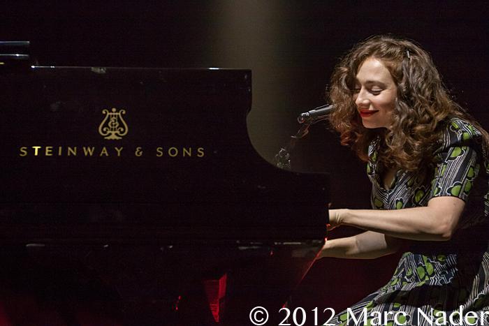 Spektor performing at the Fillmore in 2012 (Marc Nader)