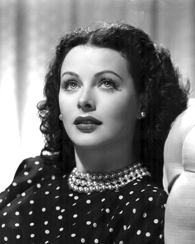 Hedy Lamarr in a publicity photo for  The Heavenly Body  (1944)