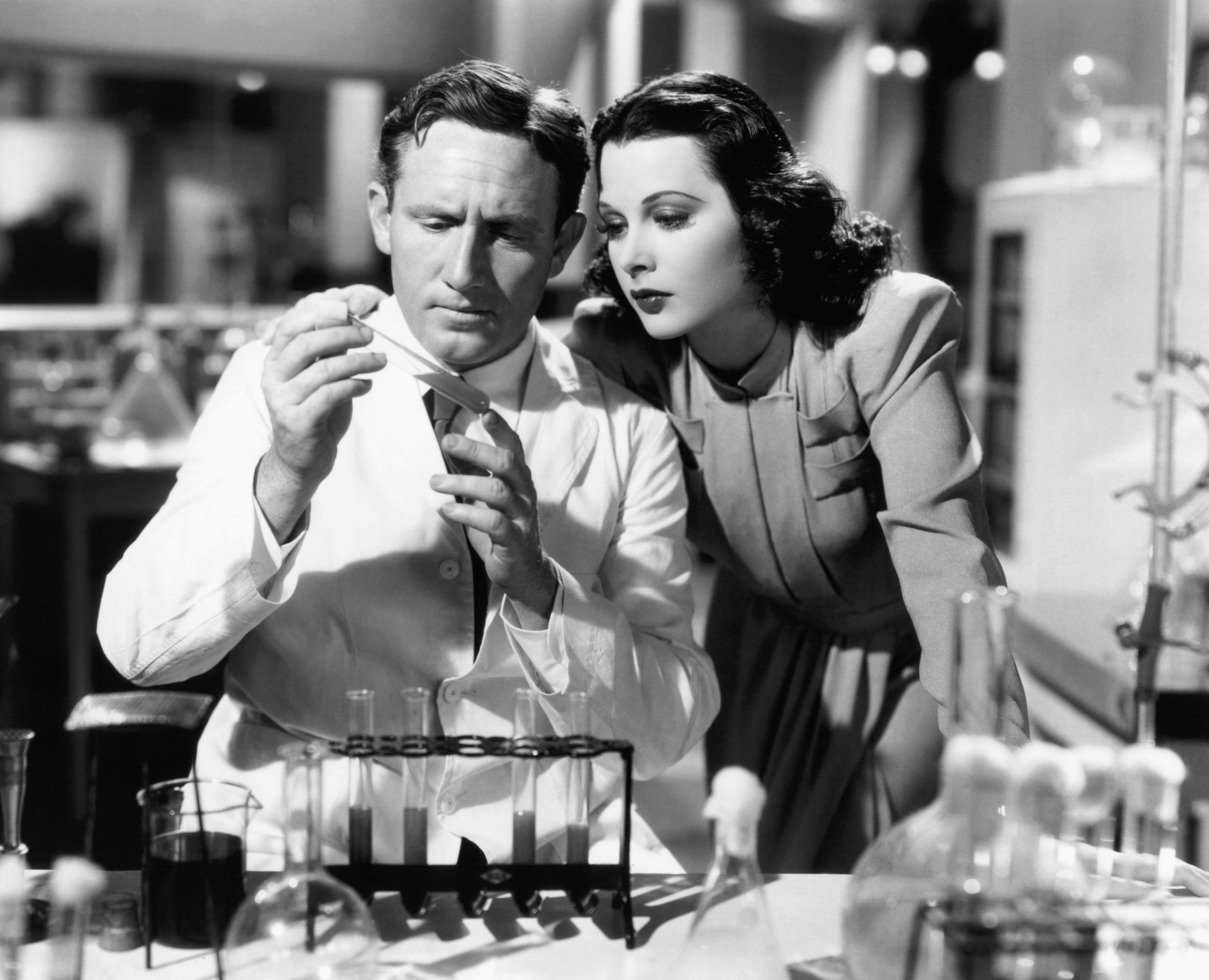 Hedy Lamarr with Spencery Tracy in  I Take This Woman  (1940)