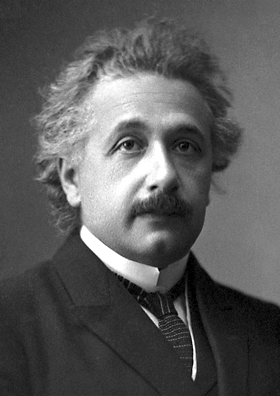 Einstein's official Nobel Prize in Physics photograph (1921)