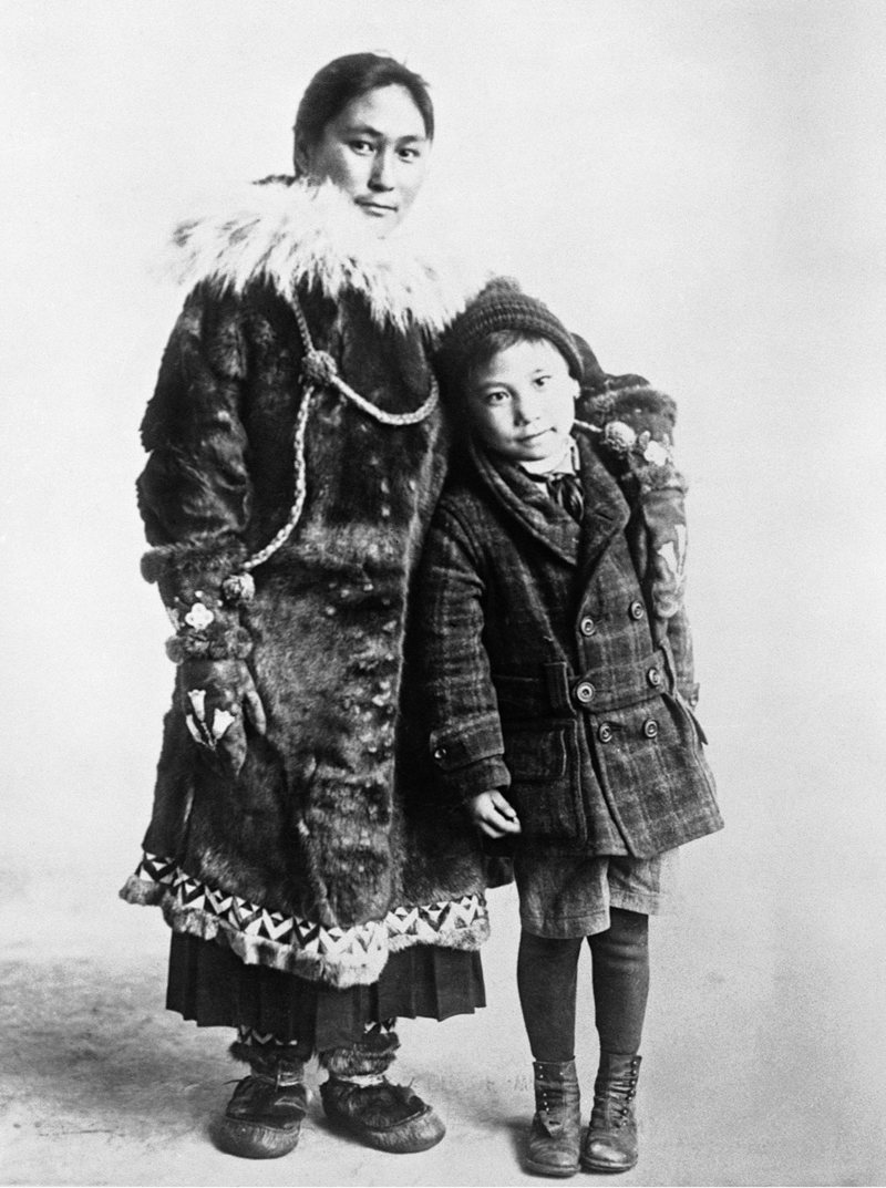 Ada Blackjack was an Inupiat woman who survived for two years on Wrangel Island. The only survivor of her arctic expedition, Blackjack was only supposed to serve as the expedition's seamstress and aimed to earn enough money to reunite with her son. Rescue came a year later than intended, but Ada was doing rather well and was happily reunited with her son.