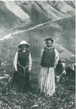 She was the first European woman to cross the Trans-Himalayas during winter to reach the forbidden city of Lhasa. At the time, Tibet was closed to outsiders due to fear of British and Russian encroachment, but David-Néel and her adopted son snuck in and remained in the country from 1918 to 1925. She became one of the most prolific Western scholars of Eastern religion and philosophy in her time.