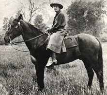 Hodges was the first female ranger in Yosemite National Park. She loved Yosemite and taught in the Yosemite Valley School, and applied to be a park ranger at the end of WW1. She did not remain with the NPS for very long, but she stayed in the Yosemite area, ranching and guiding groups.