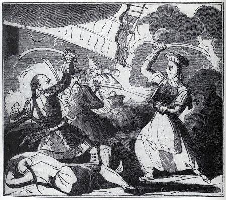 Ching Shih was an 18th century female Chinese pirate who dominated the South China Sea. She commanded approximately 80,000 pirates, far more than the legendary Blackbeard. Never defeated by large governments, she retired to her own island of gambling.