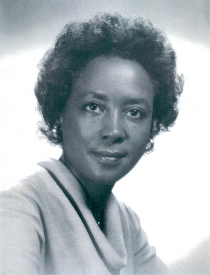 She was a Black mathematician who worked for NASA (then NACA) from 1955-1989. She most famously worked on the Centaur rocket, which powered the first space probe to land on the moon.