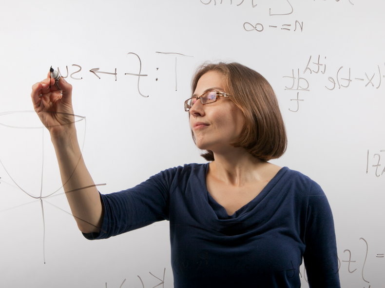 She is a Duke University professor who researches number theory and harmonic analysis. She once contradicted the Queen of England about women's ability to do math.