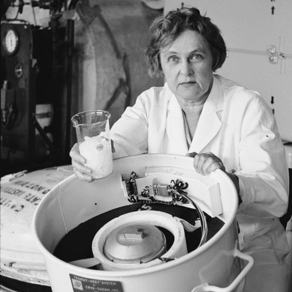 """Telkes invented the first solar-powered heating system, preceding all of our modern uses of solar power. She was so passionate about the sun and solar power that she came to be known as the """"Sun Queen."""" One of her inventions, solar-powered water distillation, was used by the US Military in WW2."""
