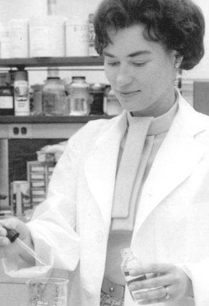 Sherman was a co-inventor of Scotchgard, a stain and water repellent. She and her coworkers aimed to develop rubber for jet fuel hoses, but found that they had accidentally created a general and powerful solvent repellent.