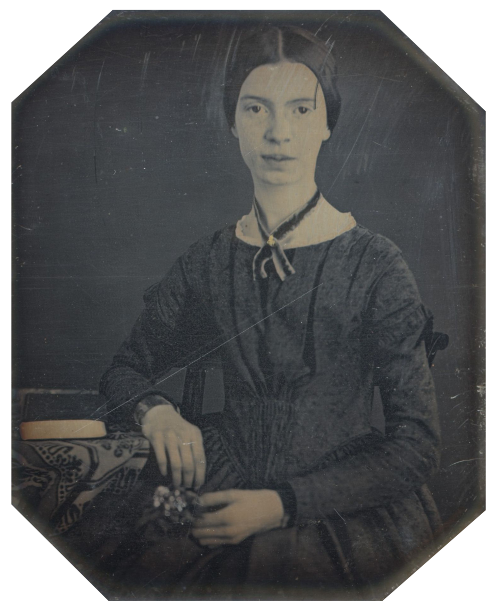 She is one of America's most famous and celebrated poets. She spent her life in Western Massachusetts during the mid-1800s, where she developed a reputation as an 'eccentric' due to her reluctance to comply with social expectations of the time.