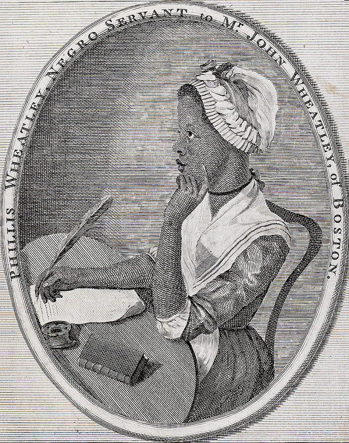 She was a slave in Boston who became the first African American woman to publish a book of poems. Phyllis' poetry was popular in her time, particularly among abolitionists. Although she was freed from slavery, life for Free Blacks was difficult and she struggled with poverty for the remainder of her life,