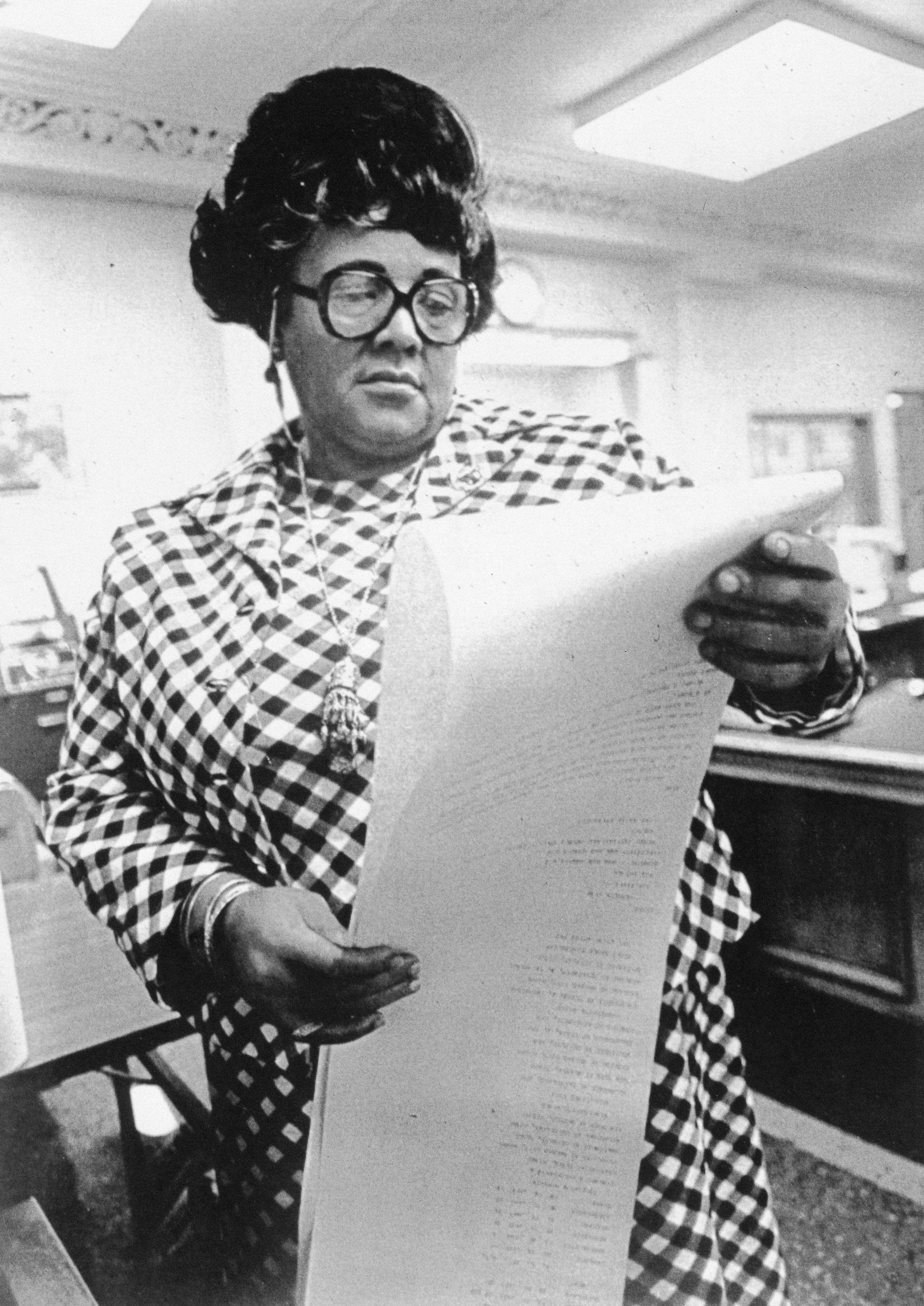 """A trailblazing journalist who covered the Vietnam War, civil rights, and the white house, she was known as the """"First Lady of the Black Press."""" Payne simultaneously advocated for civil rights and reported on issues near & far."""