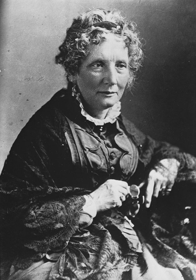 An abolitionist, she published her best-selling book  Uncle Tom's Cabin . The book portrays the conditions faced by Black slaves in the American South, aiming to educate Northerners. Stowe spent her entire life advocating for social improvements, such as the abolition of slavery and expansion of women's rights.
