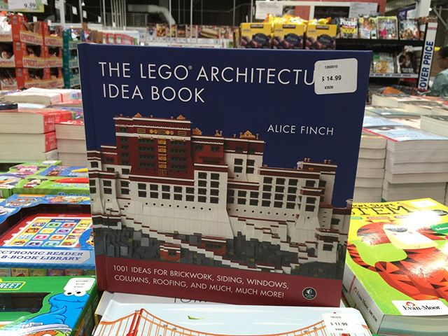 Look what was spotted at Costco!! #legoarchitectureideabook  #lego #afol #legoarchitecture #womensbrickinitiative #wafol