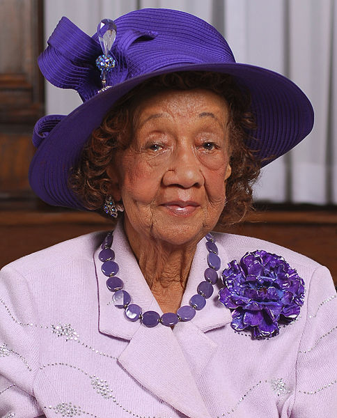 Dorothy Height was a prominent civil rights leader who counseled the likes of Eleanor Roosevelt, Eisenhower, and Lyndon Johnson. Height was an organizer of the March on Washington and served as the president of the National Council of Negro Women for 40 years. Height is often credited with connecting the issues of African American rights and women's rights as issues that could and should be advanced together.