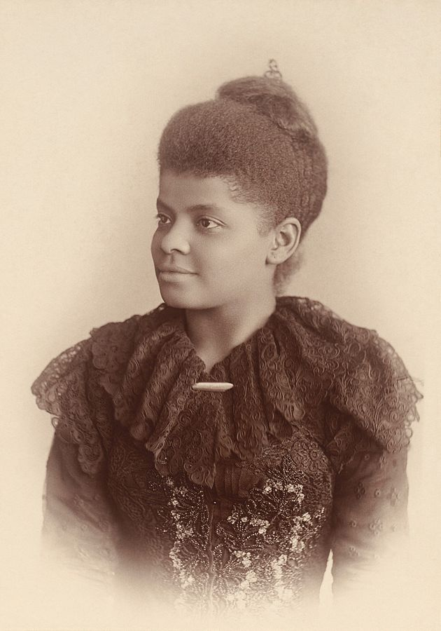 Ida B. Wells was born into slavery during the Civil War and went on to become a prominent African American journalist and anti-lynching advocate. At 22, Wells was thrown off a train despite having a ticket and reportedly bit the hand of the man moving her. She traveled the world, bringing light to African American issues, particularly lynching, and was one of the founders of the NAACP.