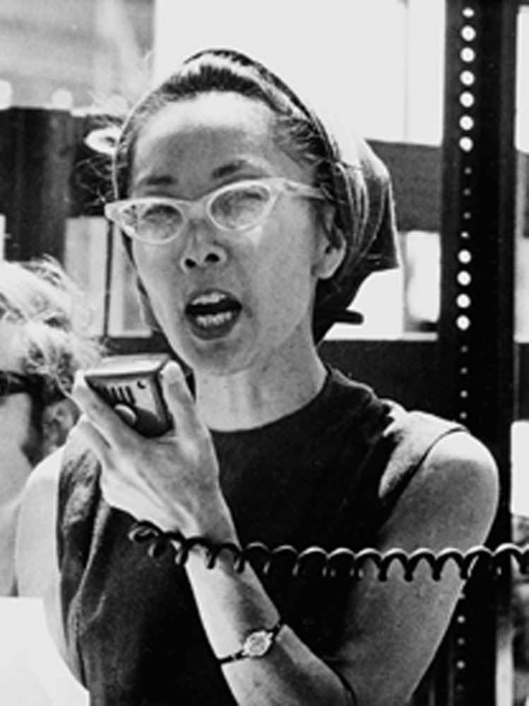 Yuri Kochiyama was a lifelong civil rights champion and a survivor of Japanese internment during WW2. Kochiyama was friends with Malcolm X and was in favor of Black separatism and opposed to war and imperialism. Along with her husband, she advocated for reparations for Japanese-American internees in the 1980s, which was signed into law in 1988.