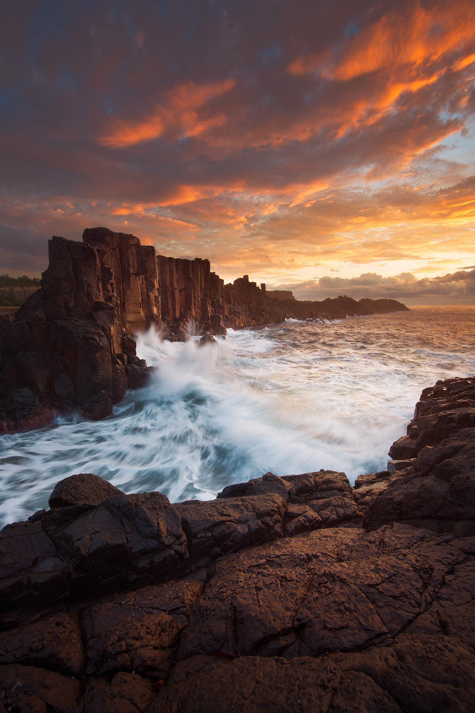 Bombo at sunrise