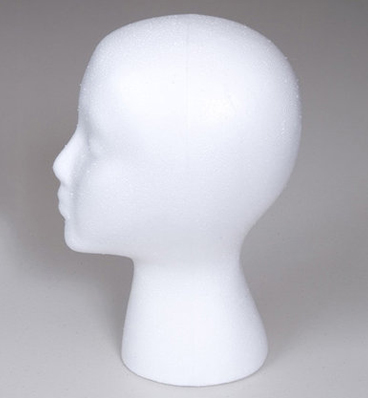STYROFOAM HEAD FORM by REVIVE
