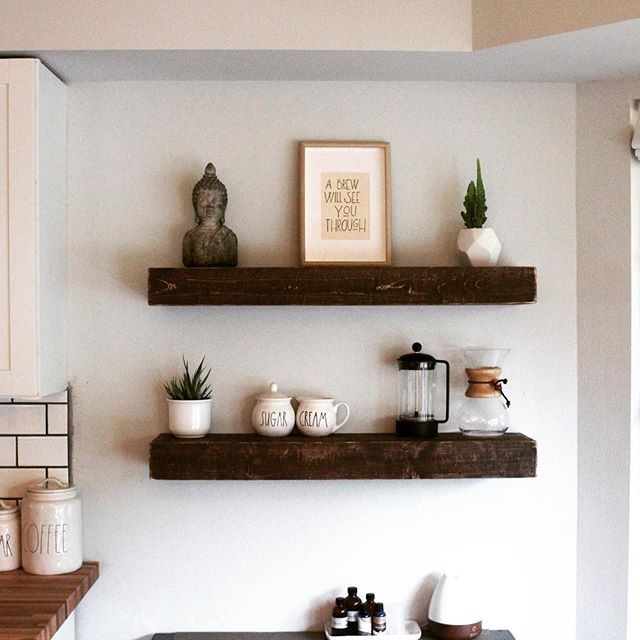 Looking for a more substantial looking shelf? Look no further! These new box shelves are easy to install and have that farmhouse, rustic appearance that is so popular on HGTV. We use 💯 Eco-friendly stains and lacquers! No toxins to bring into your home. 🌳  https://etsy.me/2Cmq0AG